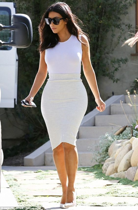 She doesn't need to cut back on anything!: Although she looks fantastic, Kim has vowed to ditch sugar: