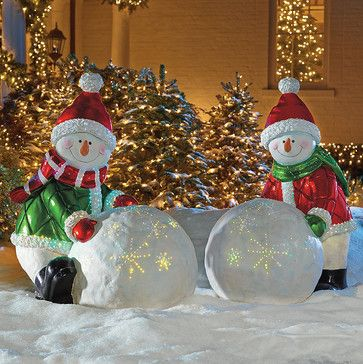 Pinterest The World S Catalog Of Ideas: traditional outdoor christmas decorations