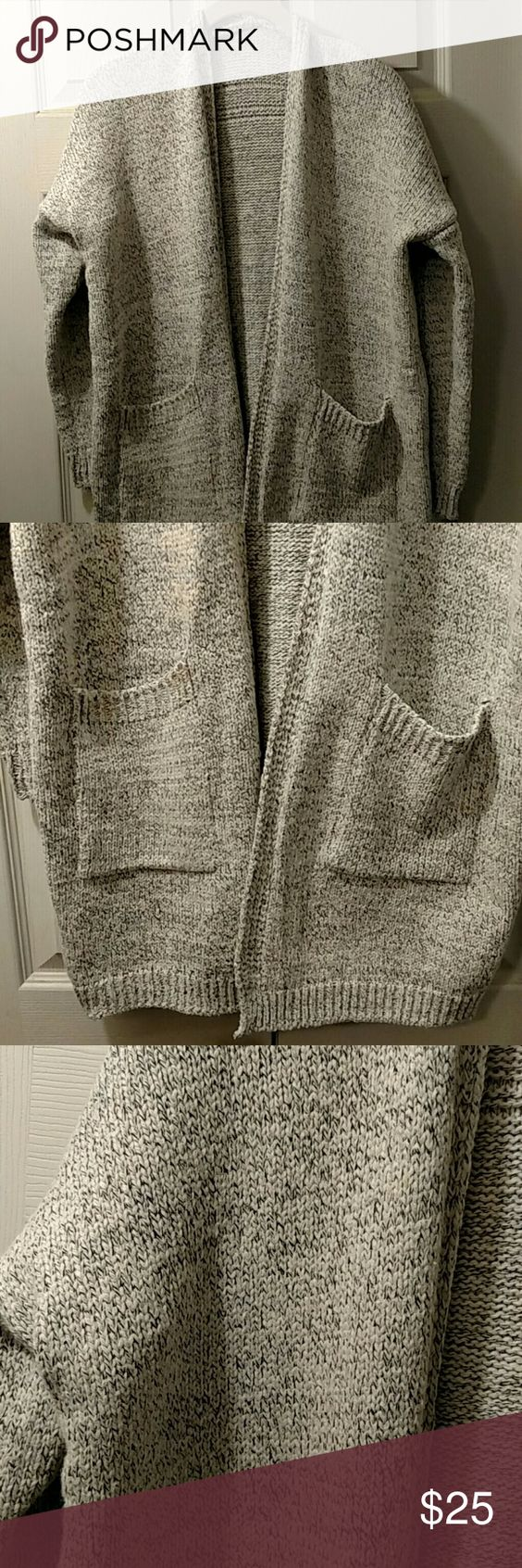 """Sweater      NWOT 30"""" L very soft and cozy no size on it best fit is S/M Sweaters Cardigans"""