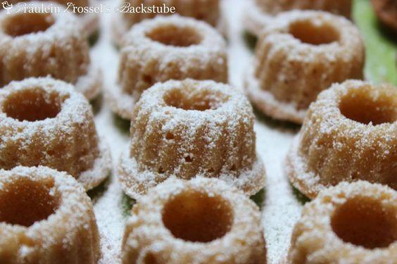 Fräulein Drossel's Backstube: Weihnachtlich angehaucht: Apfel-Zimt-Gugl