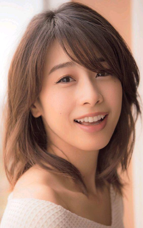 歯並びが綺麗な加藤綾子