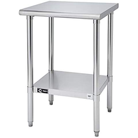 Trinity Ecostorage Nsf Stainless Steel Table 24 Inch Dyi Home