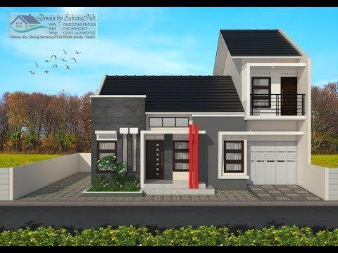 Gambar Rumah Tingkat Sebelah Minimalis Di 2020 Rumah Minimalis
