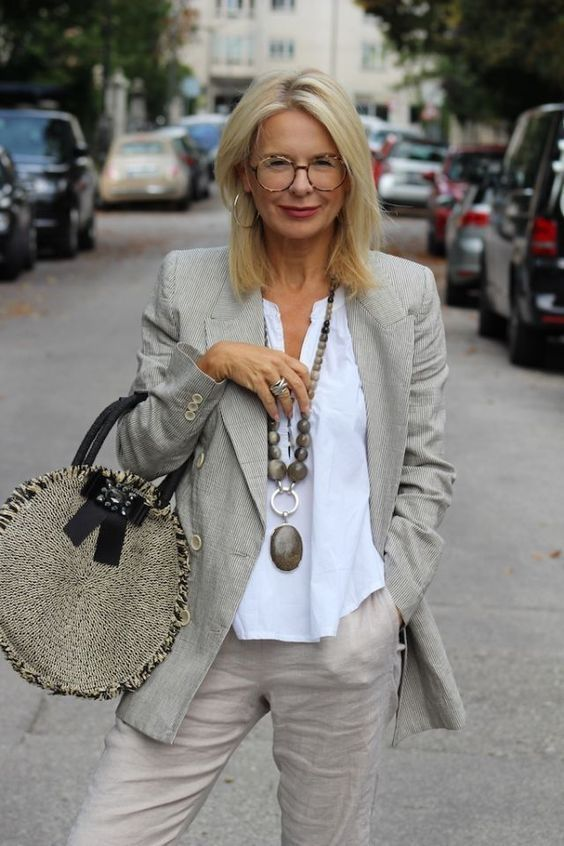 50 sugestões de looks confortáveis para mulheres de 60 anos | Blog da Mari Calegari