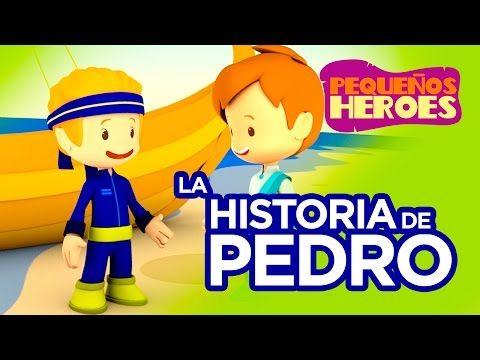 Historias De La Biblia Para Niños Pedro Pequeños Héroes Youtube Biblia Para Niños Historias De La Biblia Para Niños Lecciones Para Niños Cristianos