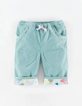 Heart Patch Pants