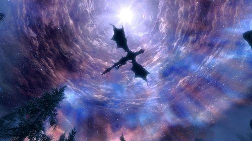 Dragon Wallpaper 05 Of 23 Flying Dragon On The Sky