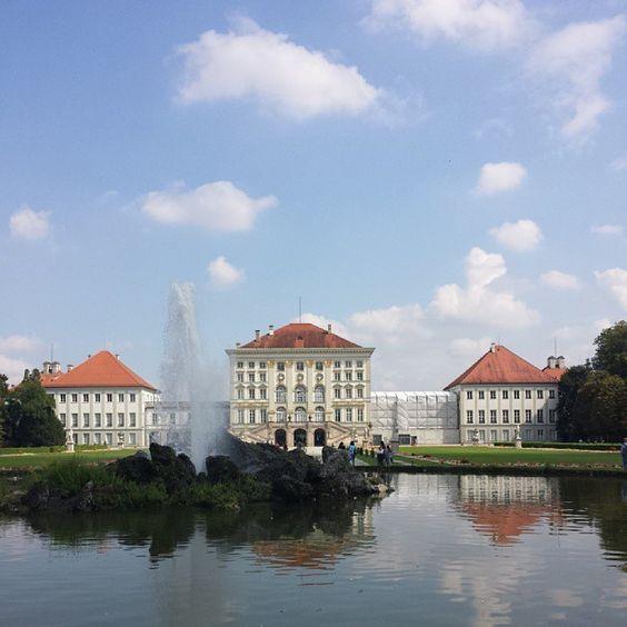 Schloss Nymphenburg, München.