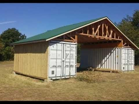 Shipping Container Garage Plans Design Ideas In 2019 Shipping