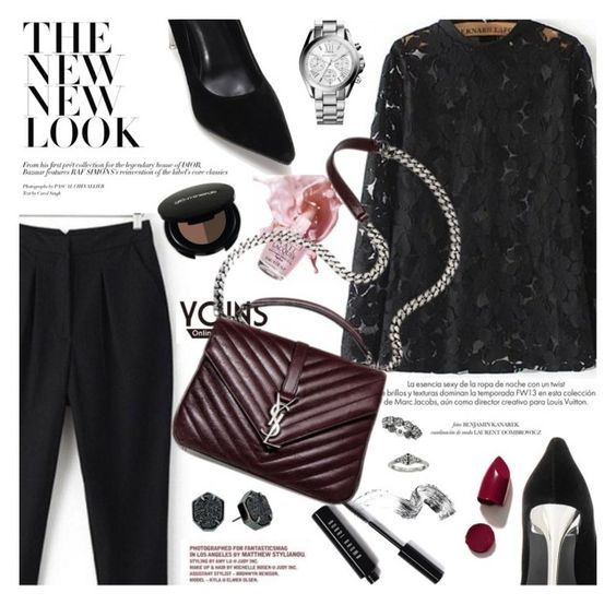 """""""Yoins- Monday"""" by fyenksfiona ❤ liked on Polyvore featuring Glo, Louis Vuitton, Bobbi Brown Cosmetics, OPI, NARS Cosmetics, Michael Kors, Kendra Scott, House of Harlow 1960 and yoins"""