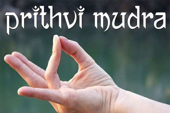 Prithvi Mudra for Weight Loss