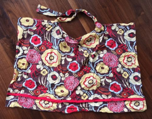 Nursing-Cover-Baby-Breastfeeding-Adjustable-Brown-Red-Yellow-Floral-Wire-Gift