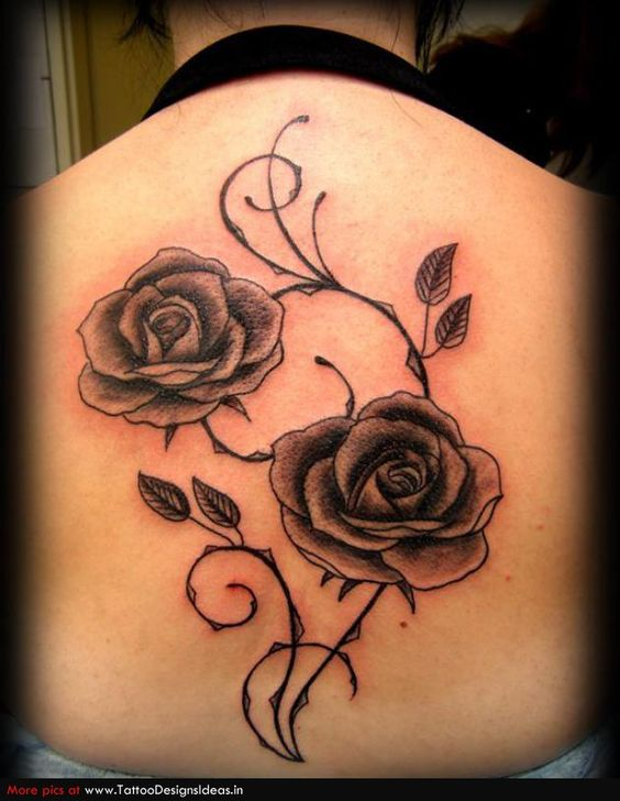 roses tattoo designs | Category: Flower Tattoos
