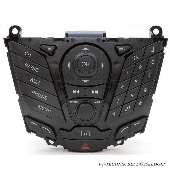 Ein Ford Fiesta MK7 ab Baujahr 2008 Radio Bedienteil OHNE RADIO MIT PHONE TASTE! Passend für Fiesta Modelle von 2008 bis 2011 Wenn Sie fragen haben, schreiben Sie uns oder rufen Sie an! Mehr zu diesem Artikel bei uns im Shop!