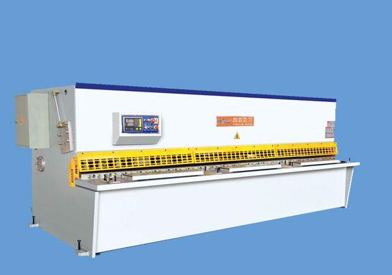 QC12K Simple Type NC Hydraulic Shearing Machine Manufacturer - HRui CNC Machines
