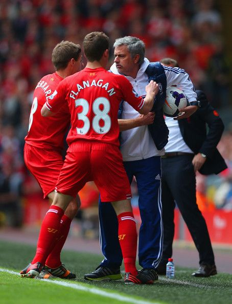 Steven Gerrard - Liverpool v Chelsea - Premier League