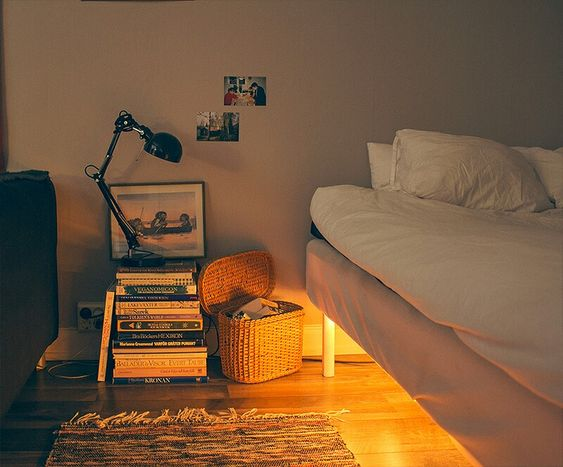 rope light or led strips under the bed for ambient lighting ambiance bedroom ambient lighting