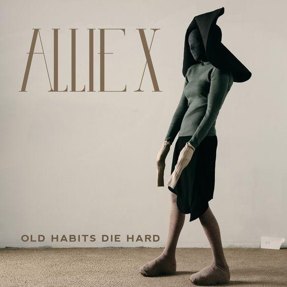 Allie X – Old Habits Die Hard (single cover art)