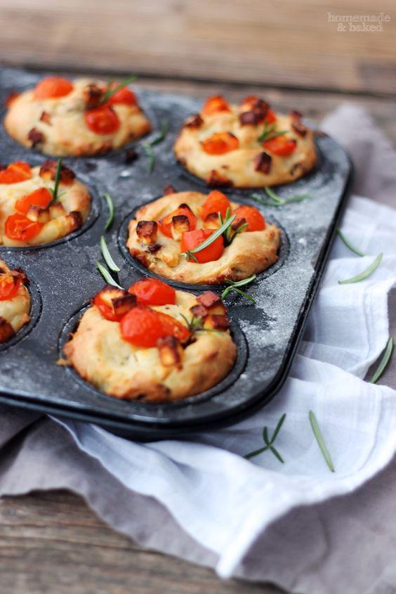 Für das Silvester-Buffet: Herzhafte Muffins http ...