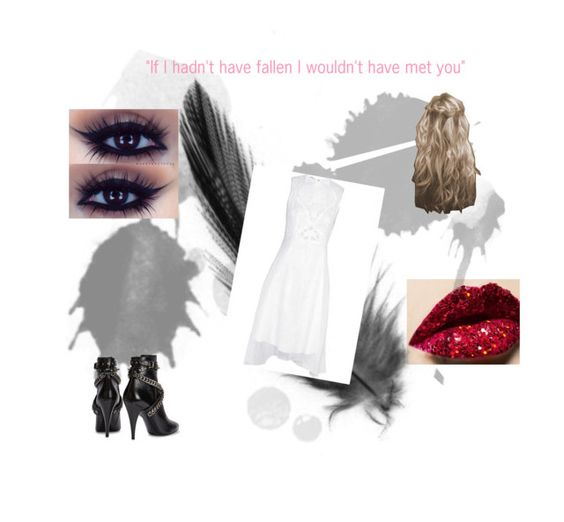 """Hush hush"" by billie-lee-i ❤ liked on Polyvore featuring moda, Yves Saint Laurent y Carven"