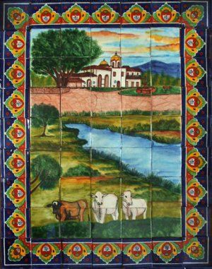 #myRustica #House manufacturers in #colonial #town of #DoloresHidalgo in central #Mexico full line of #ceramic tiles and #handpainted #talavera #tilemurals. Our brand new #classic #colonial and #Mexican #folk art #talavera #tilemural #patterns were inspired by #old #European and #Spanish #hacienda #tradition found in the old noble houses and #palaces throughout #LatinAmerica, #Europe and #Mexico.
