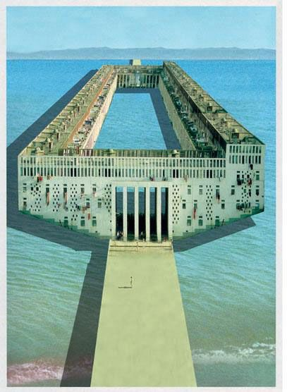 :: Shore Bridge + Mediterranean City_COSA SPA (Andrea Costa and Deborah Sanguineti)_Project heracles#1_2011 Domus 949