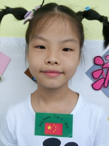 Huang Lingyu is deaf and has recently had a special implant that allows her to hear