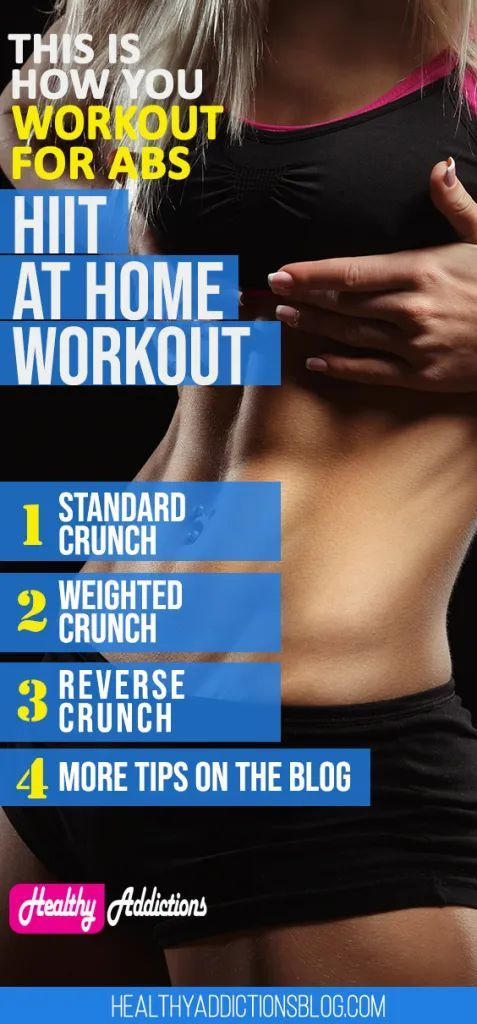 The 6 Best Exercise For Six Pack Abs With Images Exercise For