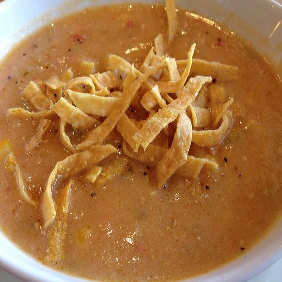 Corn Tortilla Soup Recipe California Pizza Kitchen