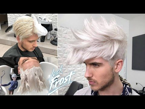 Jack Frost Platinum Hair Color Youtube White Ombre Hair