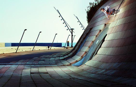 Photographer: Rutger Pauw Athlete: Stefan Lantschner Location: Barcelona, Spain