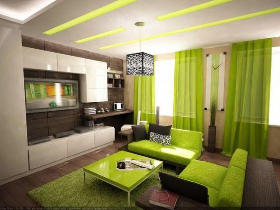 Portare la natura di originalità al salotto Pittura It Green - Top ...