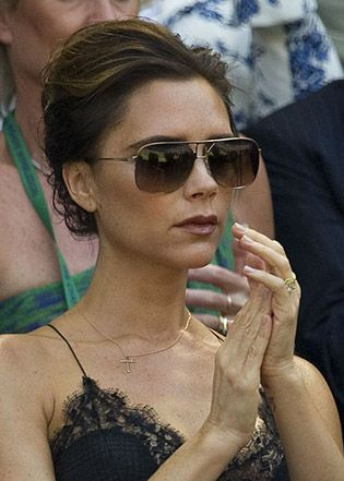 Fashion maven Victoria Beckham's Sunglass Style