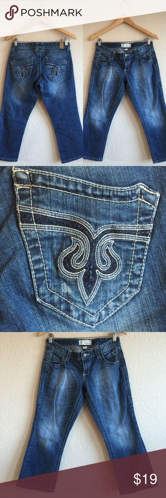 MAURICES ❤️ Jean Capris, Sz 3/4 Adorable jean capris!  Cute back pockets!  Size 3/4!  💗💗💗 Maurices Jeans