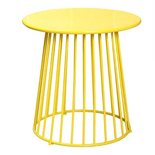 Coffee Tables Table Living Room Balcony Tea Table Tea Table Corner Iron Art Small Yellow Tables Outdoor Stools Stool Wire Side Table