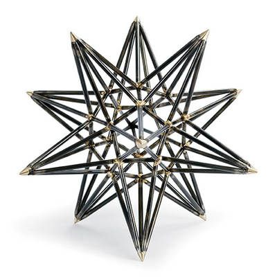 Star power -an astral success! Interior HomeScapes offers the Trellis Star - Small by Regina Andrew Design.  Visit our online store to order your Regina Andrew Design products today.