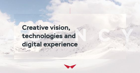 Creative vision, technologies and digital experience