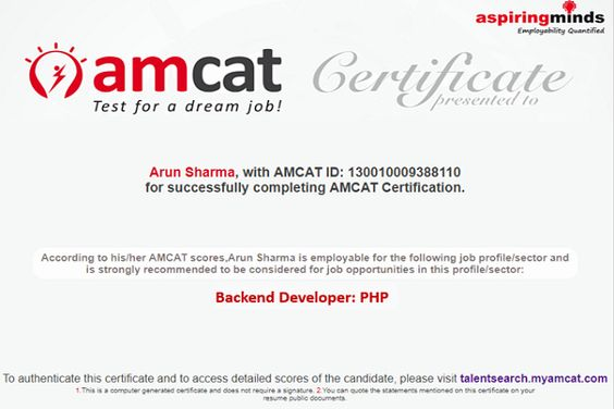 Back End Developer Resume Elegant Next Step To Your Dream Job The Amcat Back End Developer In 2020 Good Resume Examples Full Stack Developer First Job Resume
