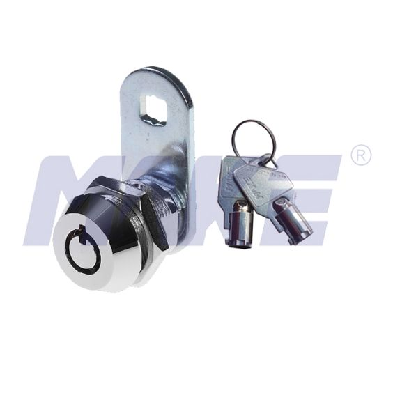 This is MK100BS radial pin cam lock, 17.5mm thread length, cam rotates with key rotation, represents all the MK100 serial cam lock features, mater key system upon request, 7 pins or 10 pins available. More info mail to:sales03@makelpocks.com #radialpincamlock #camlock #masterkey #makelocks