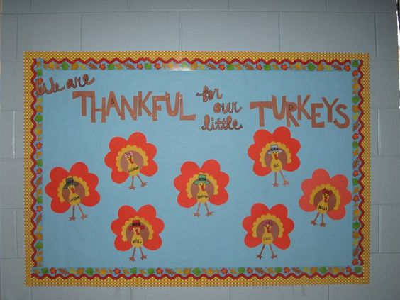 thanksgiving bulletin board