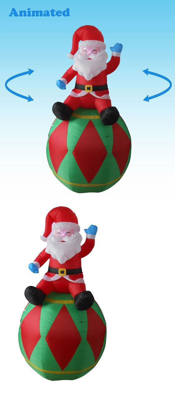 christmas decorations animated christmas inflatable santa claus yard decoration balloon ornament new buy it now