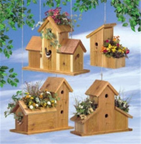 Cedar Birdhouse Planter Plan Artsandcraftsprojects Birdhouse Designs Bird House Bird House Plans