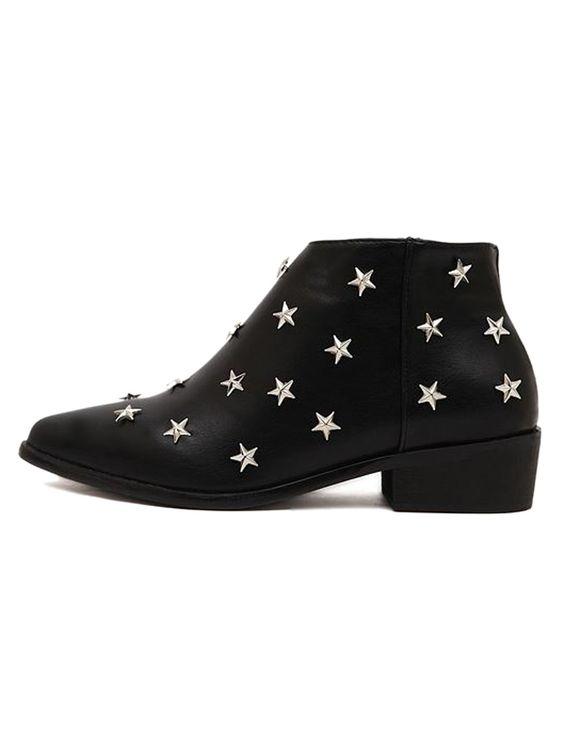 Super Super Cute! Very Unique! Love these Ankle Boots! Black