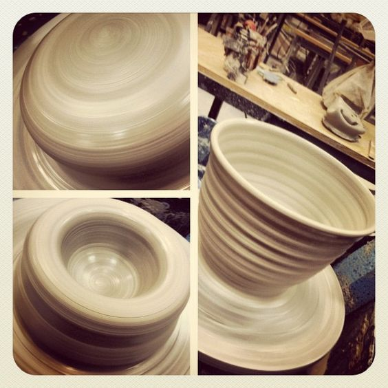 Back on the wheel again! Bowl making fun by RTVermeal.