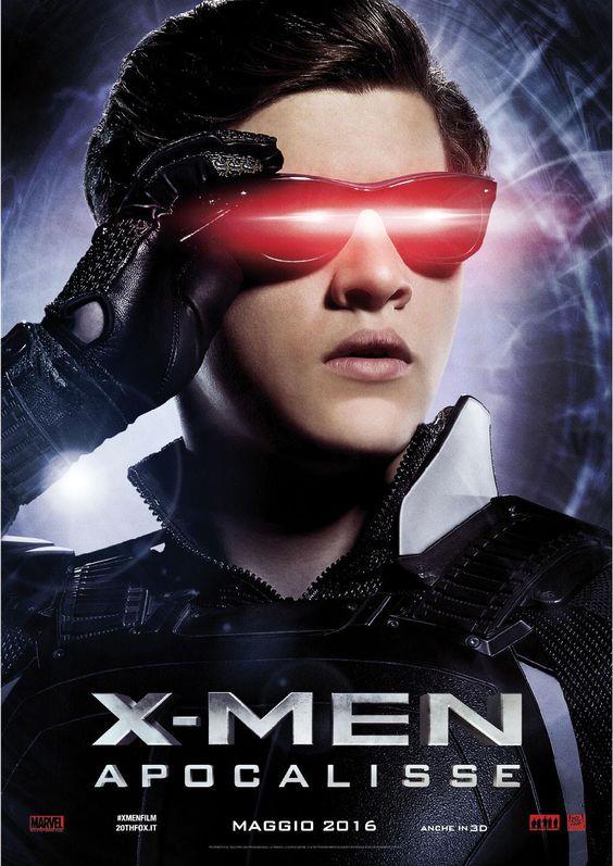 X-Men Apocalypse - Cyclops. Italian promo poster.