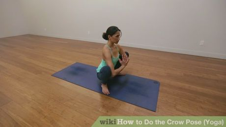 Image titled Do the Crow Pose (Yoga) Step 1