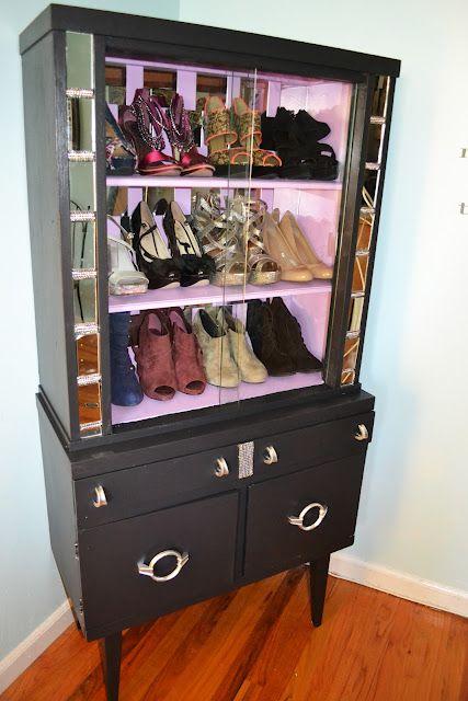 Glam Shoe Storage...Shoes, shoes, shoes