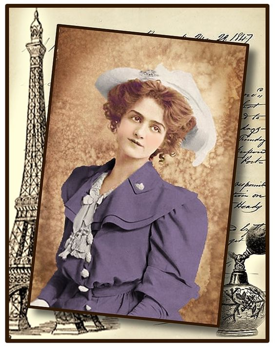 Free to use for personal use. Vintage Collage.  Lilly Elsie.  Thanks for looking.