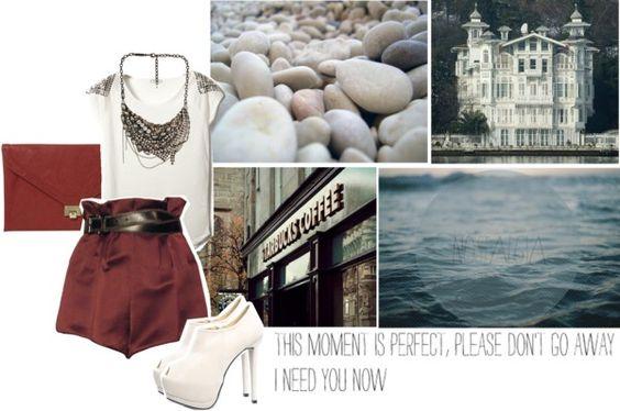 """""""I got summer on my mind."""" by mademoiselledeea ❤ liked on Polyvore"""