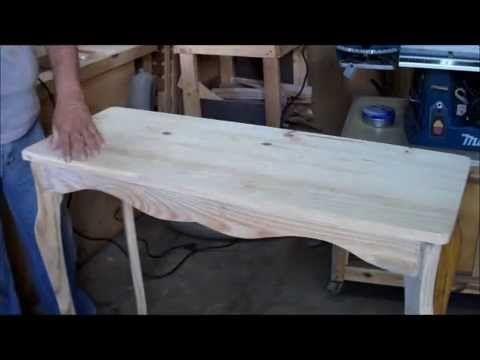 Aparador - Feito com madeira usada.
